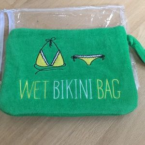 Handbags - Wet bikini bag NWT